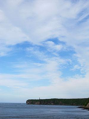 [写真]能取岬の様子