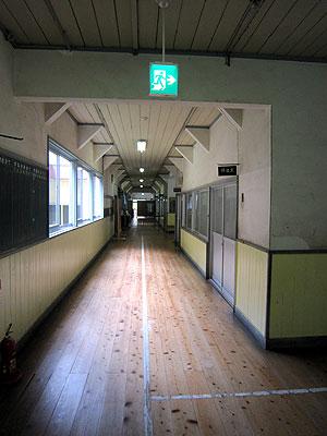 [写真]廊下