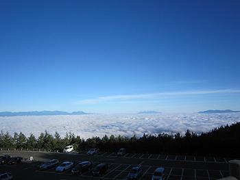 [写真]雲海の様子