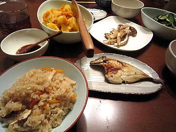 [写真]松茸料理
