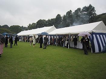 [写真]テントの様子