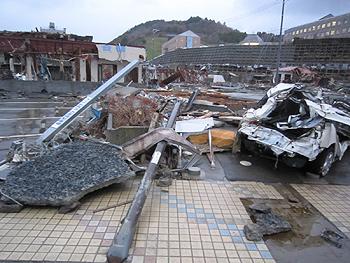 [写真]被災地の様子