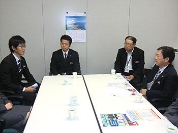 [写真]日立ソフトシステムデザイン(株)訪問の様子