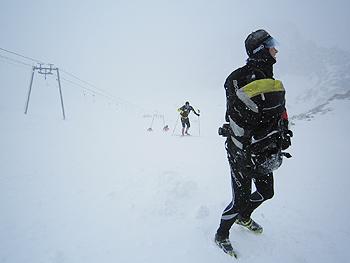[写真]吹雪の様子