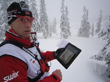 [写真]ノルウェーチームのタイムランチャー