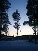 [写真]フィンランドの夕焼け
