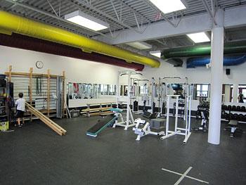 [写真]トレーニングルーム