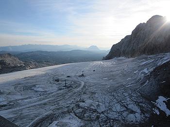 [写真]ラムサウの氷河の様子