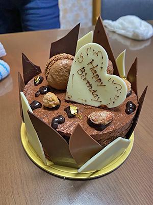 [写真]次男の誕生日会のケーキです