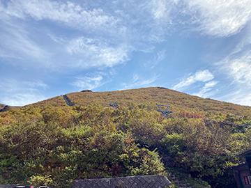 [写真]岩木山の様子