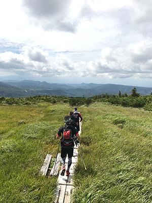 [写真]登山の様子