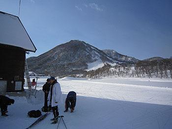 [写真]木島平クロスカントリースキーコース
