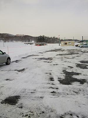[写真]きれいに除雪されました