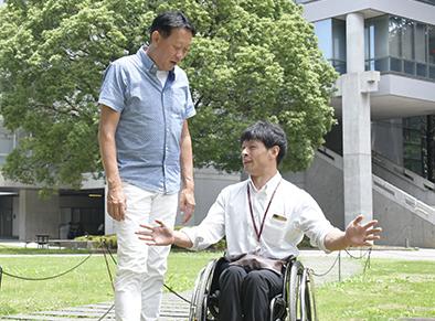 桜井智野風先生と馬場選手