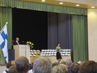 [写真]卒業式