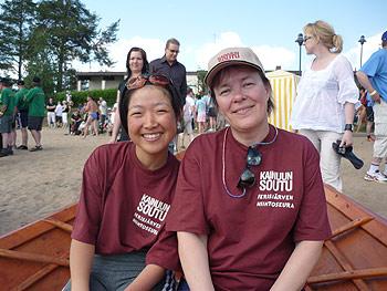 [写真]フィンランドの奥さんと太田渉子