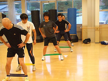 [写真]トレーニングの様子