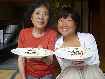 [写真]太田渉子とおばあちゃん