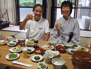 [写真]渡部さんと太田渉子選手