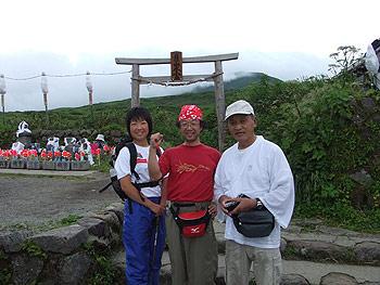 [写真]登山メンバー