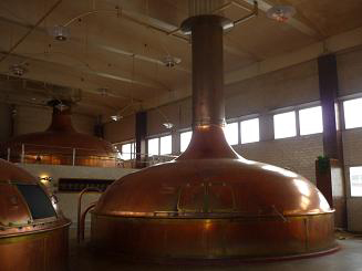 [写真]エストニアのSakuビール工場