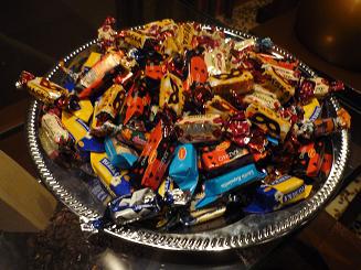 [写真]ラトビアのLaimaチョコレート