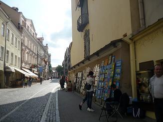 [写真]ヴィリニュスの街並み
