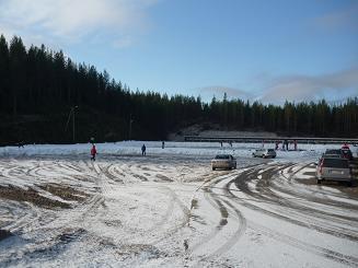 [写真]フィンランドの雪景色