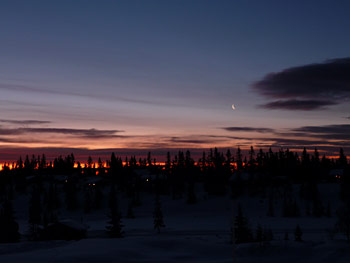 [写真]夕焼け