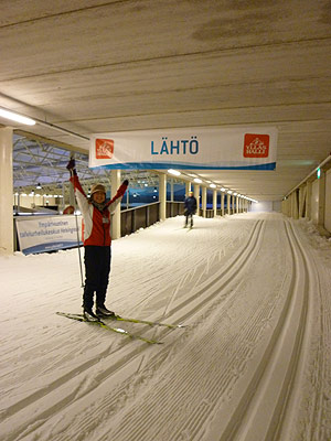 [写真]スキーを楽しむ太田渉子