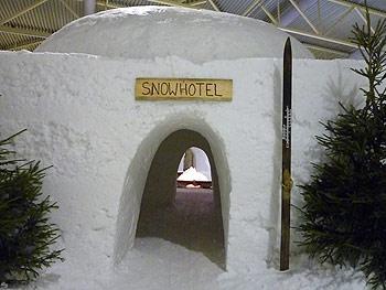 [写真]スノーホテルの入り口