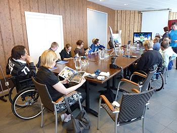 [写真]フィンランドパラリンピック協会のミーティング