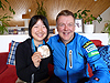 [写真]太田渉子とフィンランドのレイヨーコーチ
