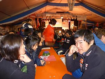[写真]日本選手団