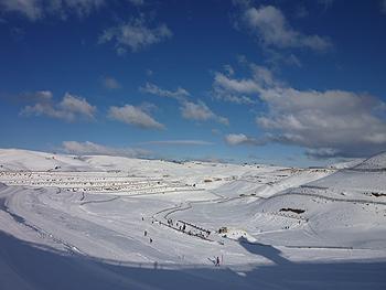 [写真]さあ、スキーだ!