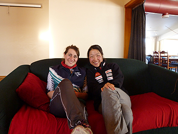 [写真]ニュージーランドの友達サマンダ
