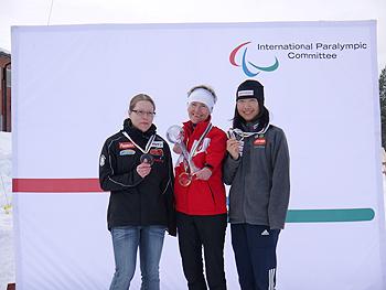 [写真]クロカンの年間総合ランキングの表彰式