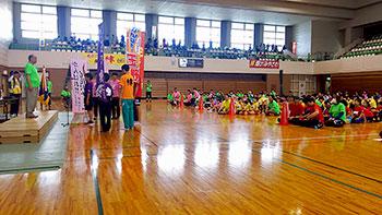 [写真]開会式の選手宣誓の様子
