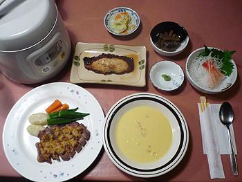 [写真]本日の夕食
