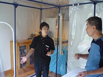 [写真]低酸素室