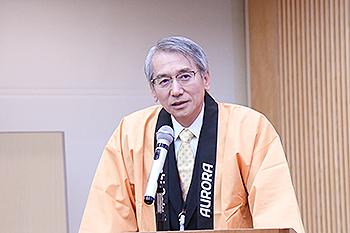 [写真]柴原社長