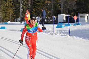 [写真]トップを快走する太田渉子選手