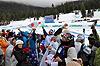 [写真]大盛り上がりの日本応援団