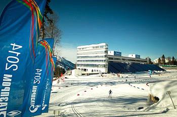[写真]ソチパラリンピックのスキーコース