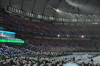 [写真]バンクーバーパラリンピック開会式会場