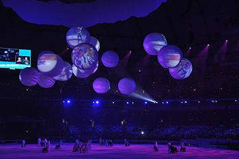 [写真]バンクーバーパラリンピック開会式