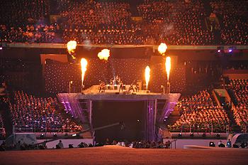 [写真]パラリンピック開会式会場