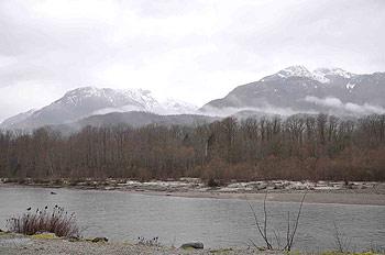 [写真]スコーミッシュ川