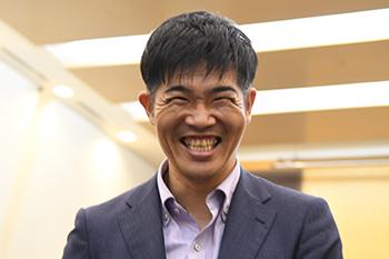 [写真]最高の笑顔の新田選手