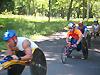 [写真]先頭集団の走り